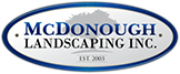 McDonough Landscaping | Woodbury and Cottage Grove Landscape Company Logo